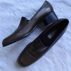 Munro Shoes Loafers Block Heel Extra Narrow 8.5